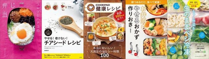 「やせるおかず」シリーズ&野菜レシピ本